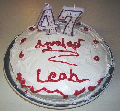 Leah's Cake Step 8