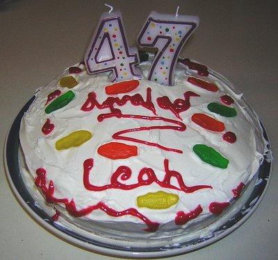 Leah's Cake Step 9