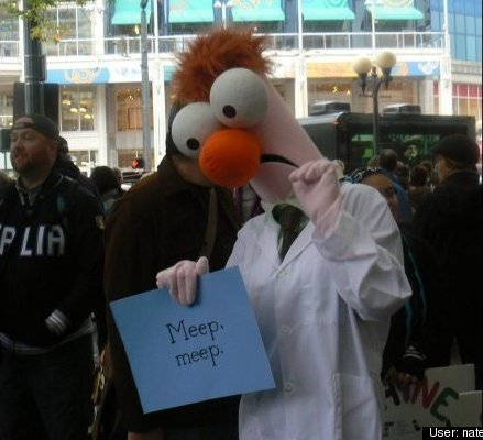 Beaker in Seattle