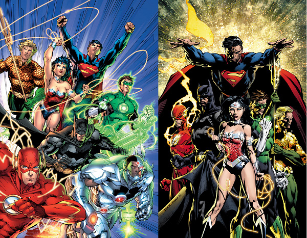 Justice League Final Covers
