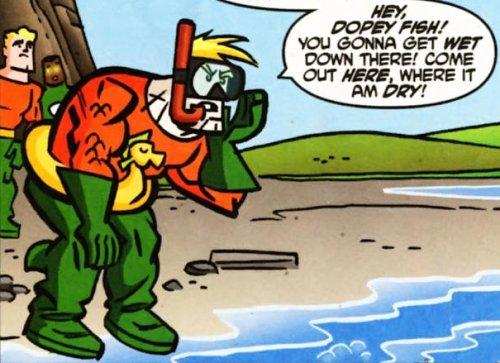 Bizarro Aquaman