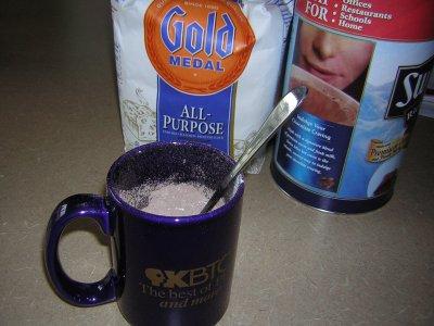 Mug with Dry Ingredients