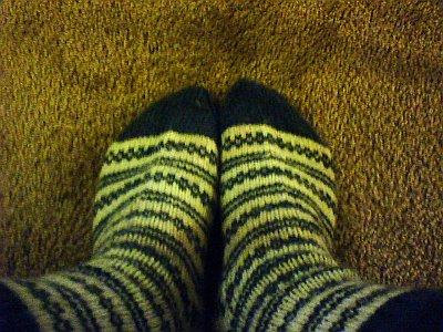Mmmm, socks