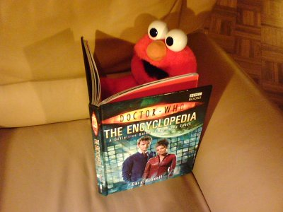 Elmo like Doctor Who!