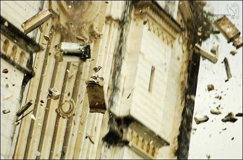 Church in Earthquake