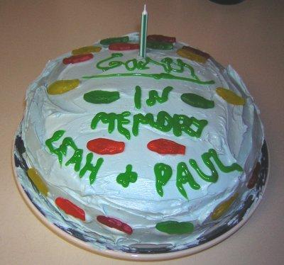 Garth's Cake