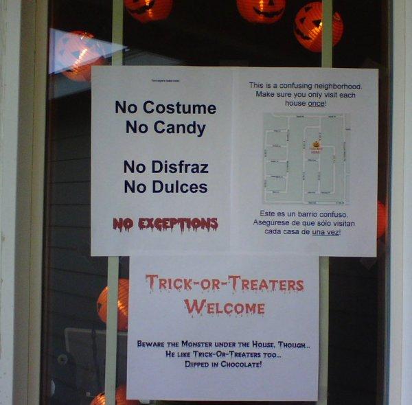 Hallowe'en Signs