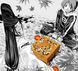 Sai and Hikaru