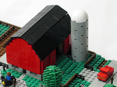 LEGO Farm Detail