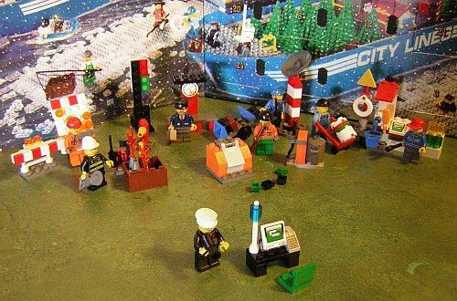 LEGO Advent Calendar Days 1 to 23
