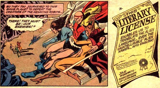 Literary License from Justice League #87