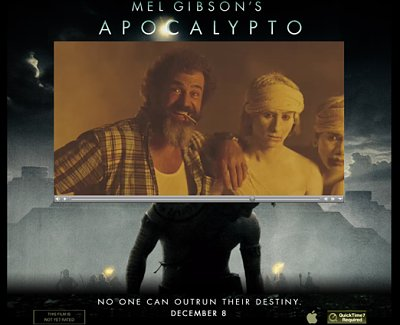 mel gibson movies apocalypto. Mel Gibson made a one-frame