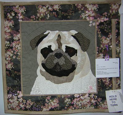 Pug Quilt by Nancy Radich