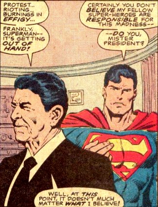 Reagan and Superman