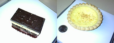 Nanaimo Bar and Custard Pie