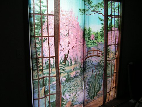 Back door curtains