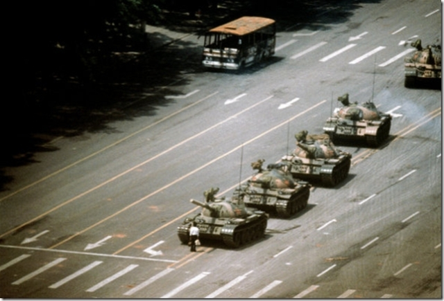 Tank Man photo by Stuart Franklin