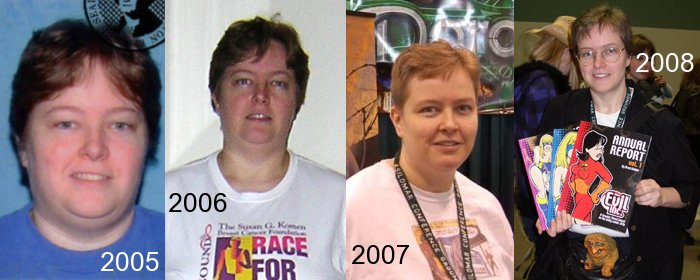 Weight Loss from 2005 to 2008