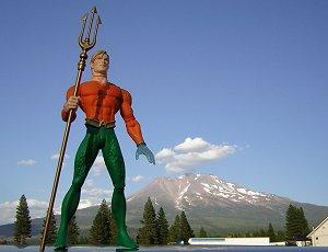 Artie and Mt Shasta