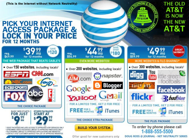 dont let corporations take over the internet support true net neutrality and keep supporting it as long as corporations believe they can soak us for